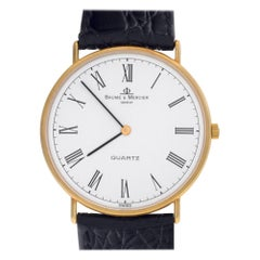 Baume & Mercier Ultra Thin 95141, White Dial, Certified