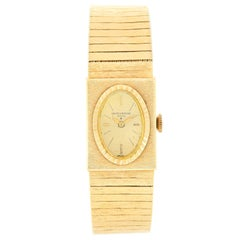 Baume & Mercier Vintage Yellow Gold Ladies Watch