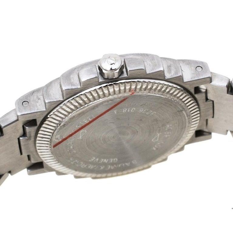 Baume & Mercier White Two-Tone Riviera 5236.018.3 Women's Wristwatch 26 mm 2