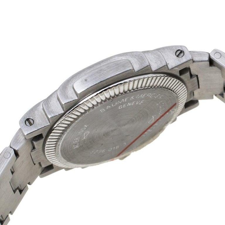 Baume & Mercier White Two-Tone Riviera 5236.018.3 Women's Wristwatch 26 mm 3