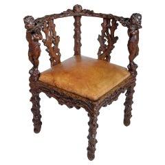 Bavarian Corner Chair
