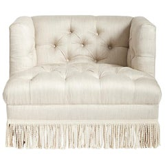 Baxter Chair with Bullion Fringe