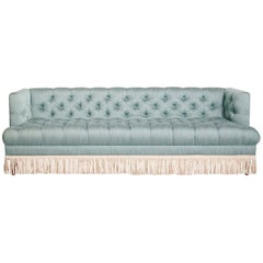 Baxter T-Arm Sofa with Bullion Fringe