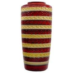 Bay Ceramic Vase, Eduard Bay Keramikfabriken, 1970s