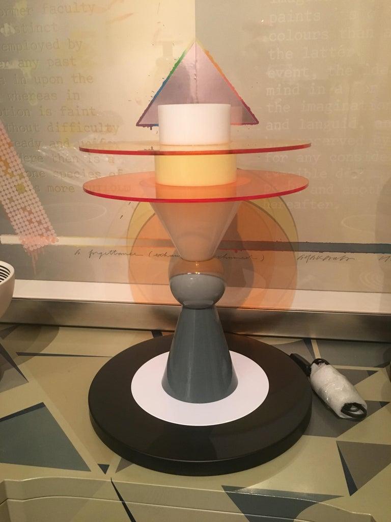 Italian Bay Table Lamp For Sale
