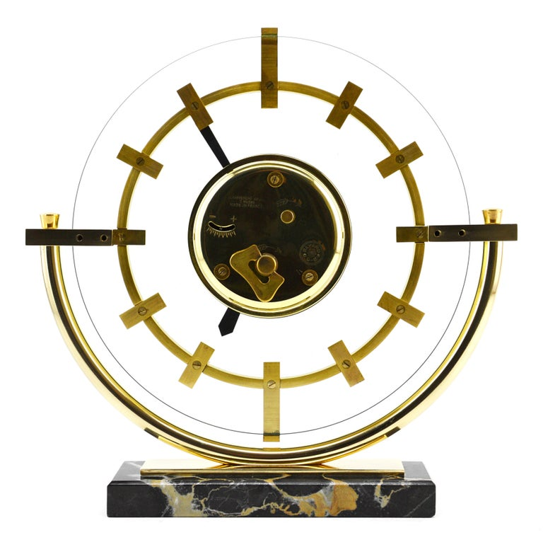 Bayard French Art Deco Table Clock, 1930s For Sale 1