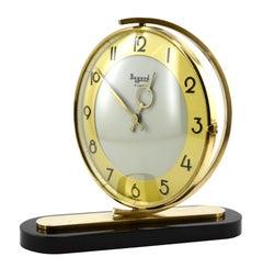 Bayard French Art Deco Table Swivelling Clock, 1930s
