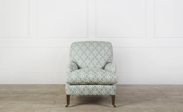 English Bayswater Armchair For Sale