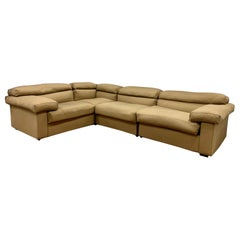 B&B Italia Afra & Tobia Scarpa Modular Erasmo 4-Piece Sectional Sofa Made Italy