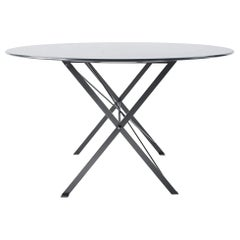 Azucena Small Cavalletto Oval Table by Luigi Caccia Dominioni