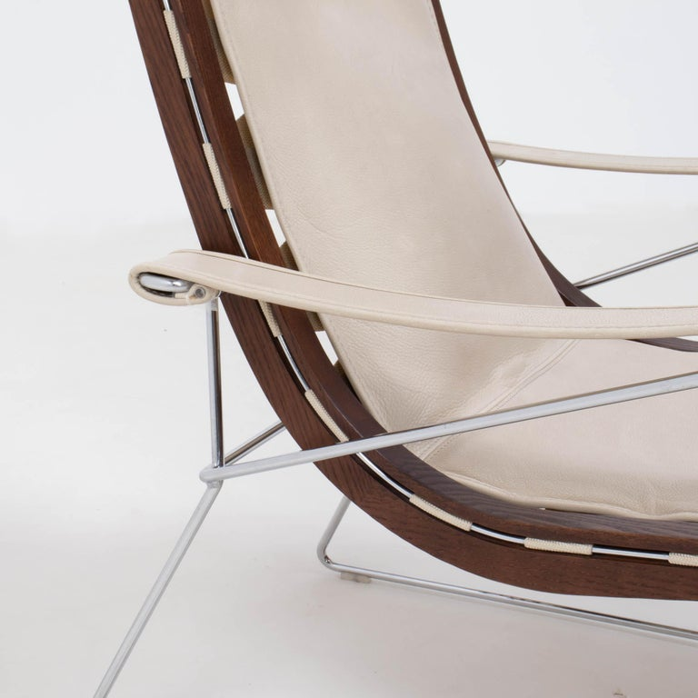 B&B Italia by Antonio Citterio Cream Leather J.J. Armchair, 2012 For Sale 1