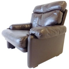 B&B Italia Coronado Lounge Chair by Afra & Tobia Scarpa, 1960s Italy, Midcentury