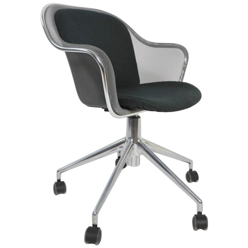 B&B Italia Maxalto Swivel Desk Chair by Antonio Citterio