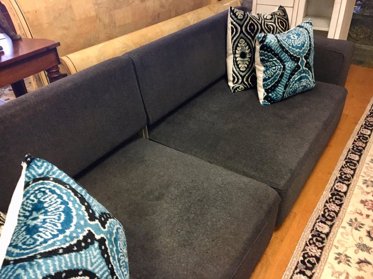 B&B Italia Signed Andy Two-Piece Sectional Sofa by Paolo Piva Made in Italy For Sale 1