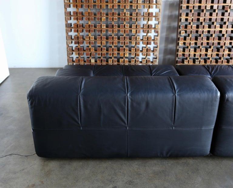 B&B Italia Tufty Time Leather Sofa by Patricia Urquiola For Sale 1