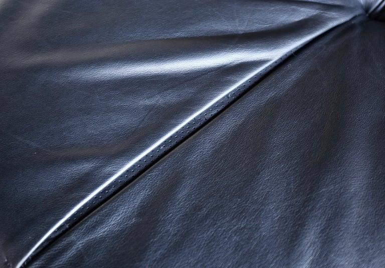 B&B Italia Tufty Time Leather Sofa by Patricia Urquiola For Sale 2