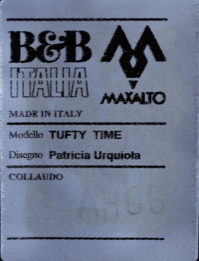 B&B Italia Tufty Time Leather Sofa by Patricia Urquiola For Sale 3