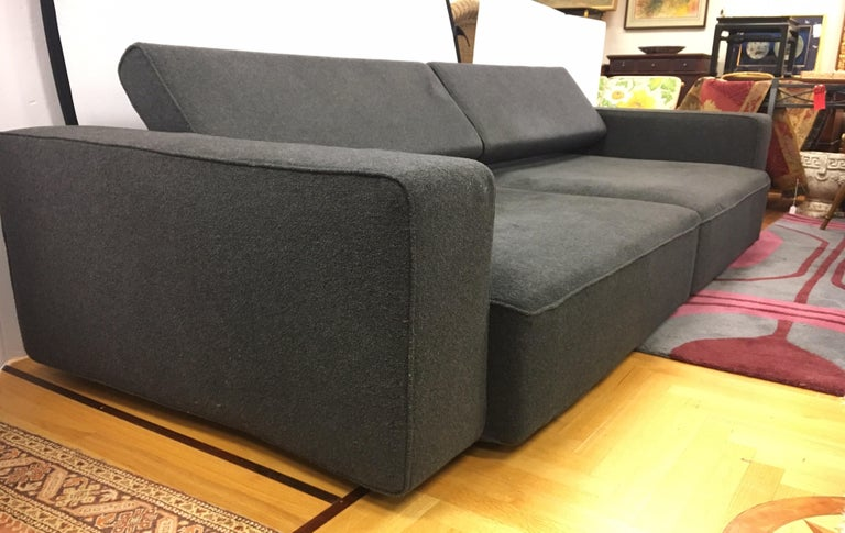 B&B Italia Two-Piece Sectional Andy Sofa Made in Italy Paolo Piva For Sale 10