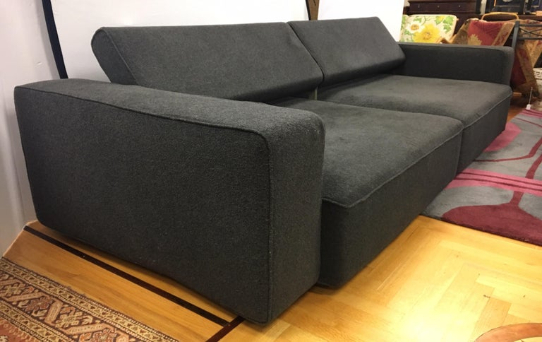 B&B Italia Two-Piece Sectional Andy Sofa Made in Italy Paolo Piva For Sale 13
