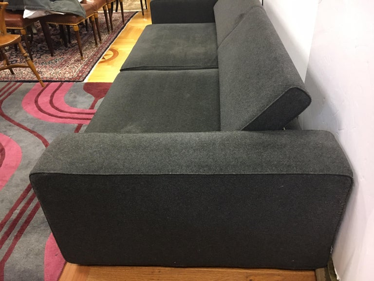 Italian B&B Italia Two-Piece Sectional Andy Sofa Made in Italy Paolo Piva For Sale
