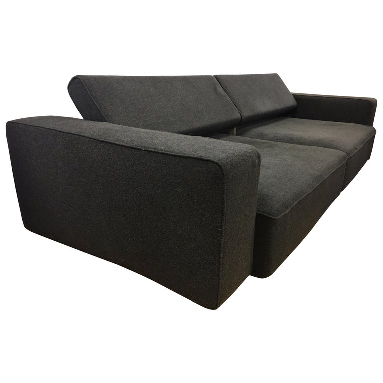 B&B Italia Two-Piece Sectional Andy Sofa Made in Italy Paolo Piva For Sale