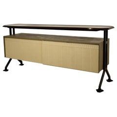 BBBPR Studio Arco Sideboard for Olivetti Syntesis Metallic Furnitur, 1962, Italy