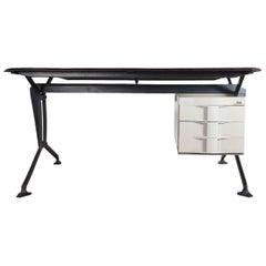 BBPR; 'Arco' Office Desk for Olivetti, 1960s