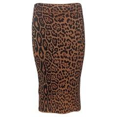 BCBG Max Azria Animalier Skirt S