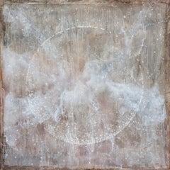 Lunar Coalescence, Painting, Acrylic on Canvas