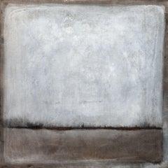 Winter Oaks, Painting, Acrylic on Canvas