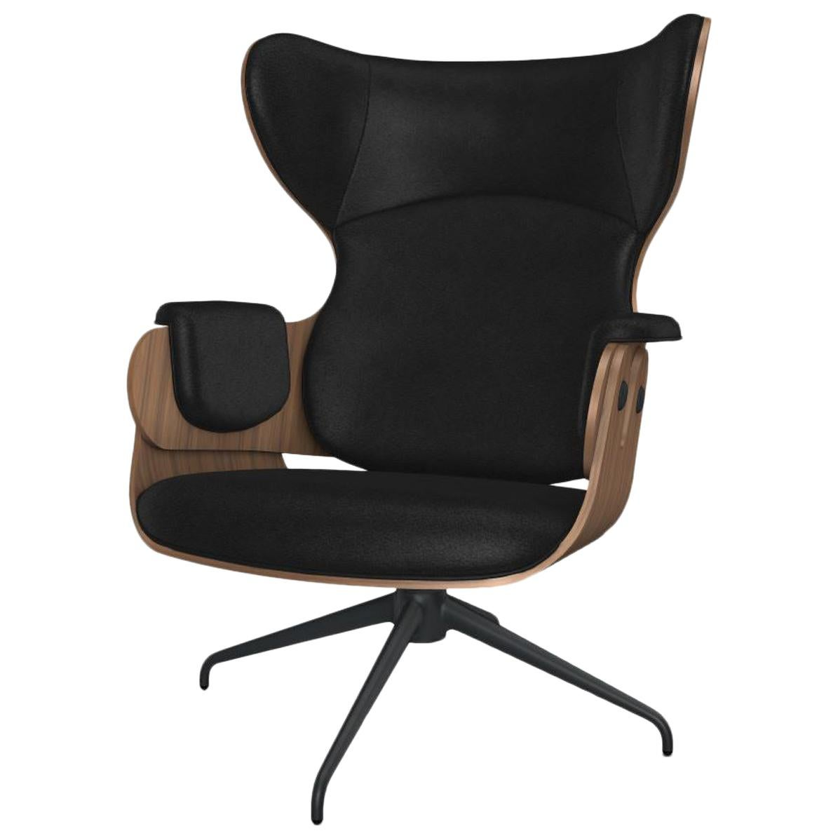 BD Lounger Chair by BD Barcelona in Leather
