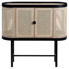 Be My Guest Cane Bar Cabinet by Charlotte Høncke for Warm Nordic