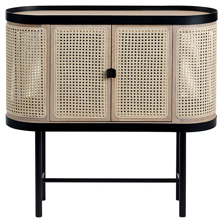 Be My Guest Cane Bar Cabinet by Charlotte Høncke for Warm Nordic For Sale
