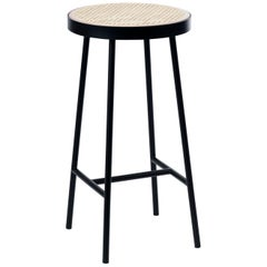 Be My Guest Cane Bar Stool by Charlotte Høncke for Warm Nordic