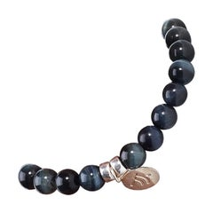 Dark Blue Tiger's Eye Be Seen Bracelet