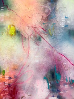 Far from words IV, Mixed Media on Canvas