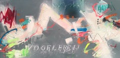 vogelfrei I, Mixed Media on Canvas