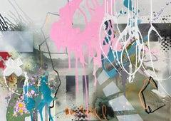 Dream bigger VI, Painting, Acrylic on Canvas