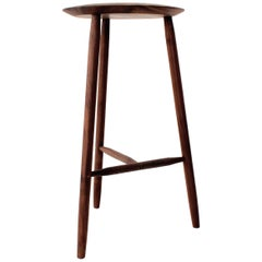 Beachcomber Bar Stool in Walnut