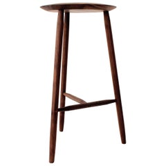 Beachcomber Bar Stool in Walnut in Stock
