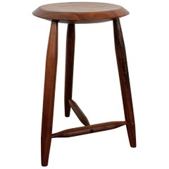 Beachcomber Counter Stool in Walnut in Stock