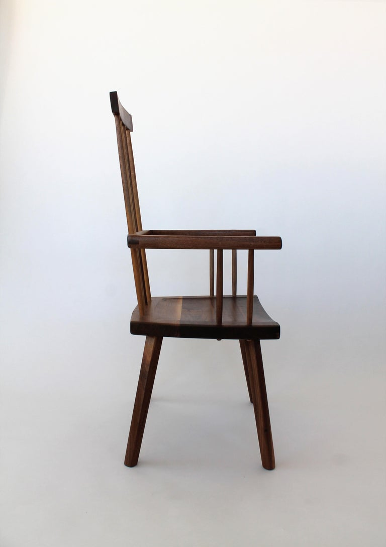During the 18th century a profound design movement took place in Wales. It was led by peasant-carpenters who, simply in an effort to create a practical seating option, produced one of the most elegant spindle back chairs of that time. It is known as