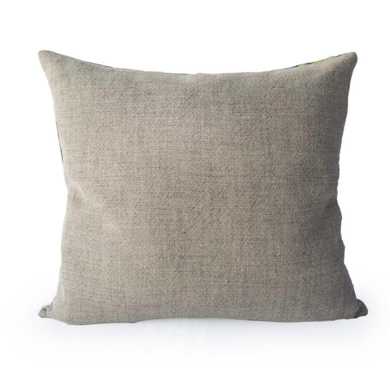 Modern Beachtime Retro Pillow  For Sale