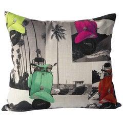 Beachtime Retro Pillow