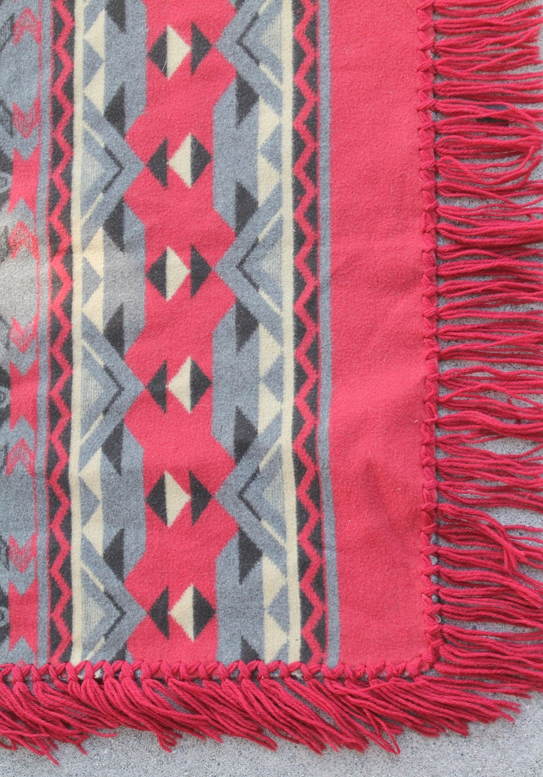 American Beacon Indian Design Camp Blanket For Sale