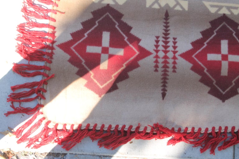 Beacon Indian Design Camp Blanket In Good Condition For Sale In Los Angeles, CA