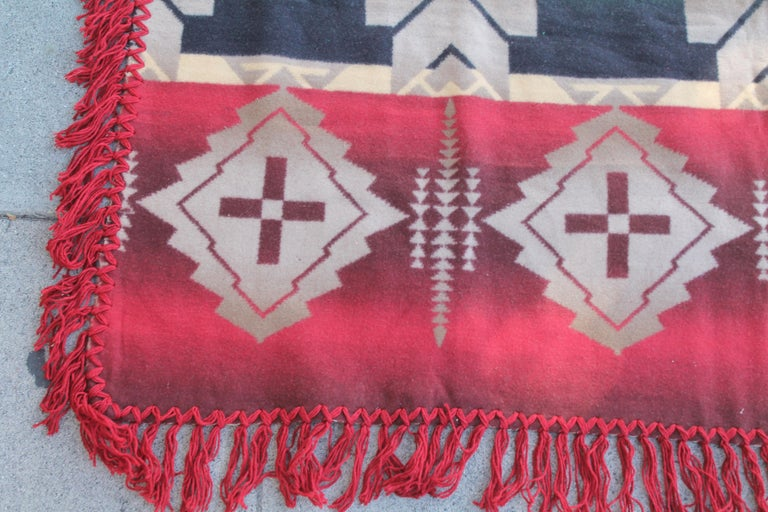 Mid-20th Century Beacon Indian Design Camp Blanket For Sale