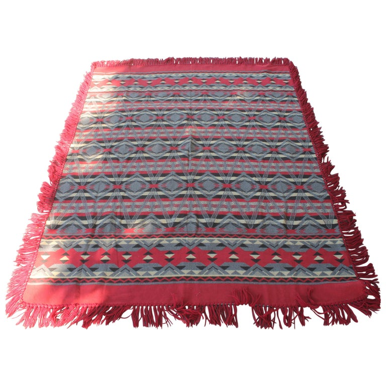 Beacon Indian Design Camp Blanket For Sale