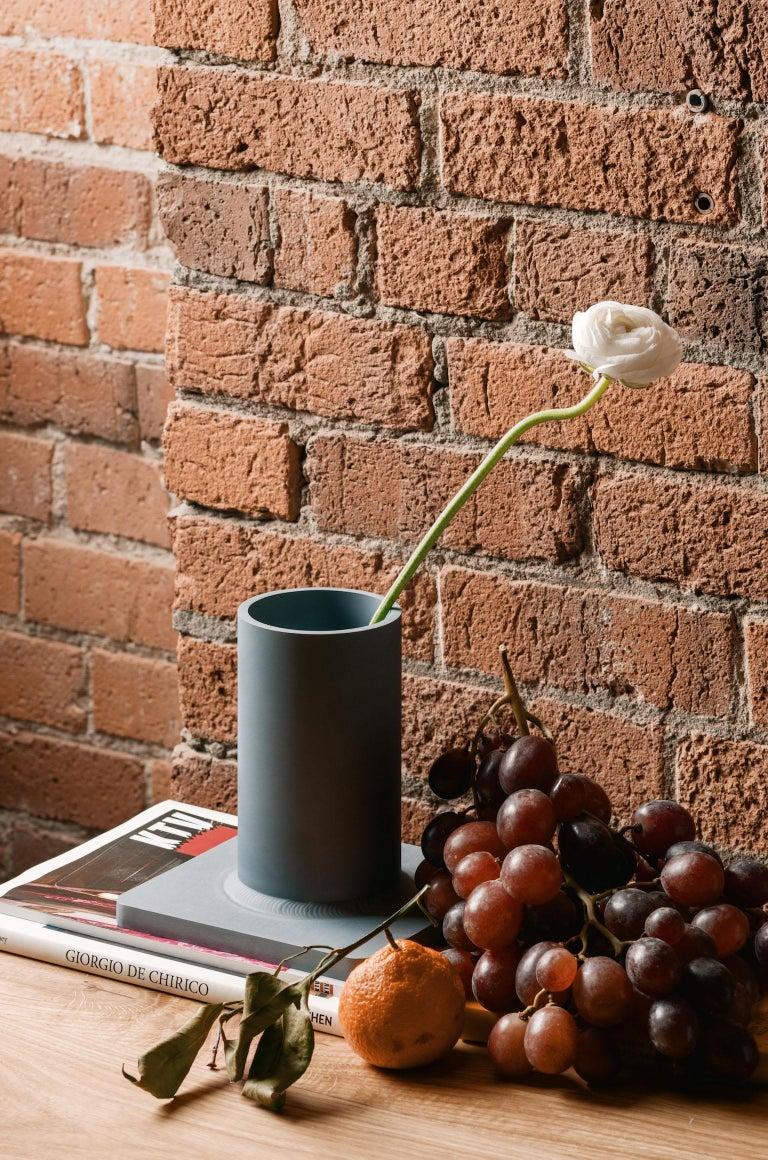 Bead Vase 17H Soft Gold For Sale 1