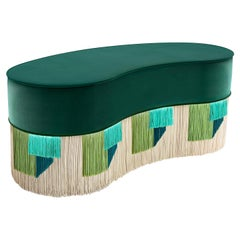 Bean Couture Geometric Bench